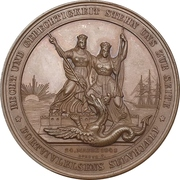 Medal - Start of conflicts between Schleswig-Holstein and Denmark – revers