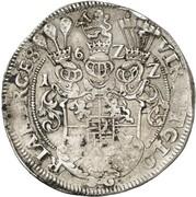 1 thaler Friedrich III – revers