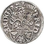 1/16 Thaler - Friedrich III – avers