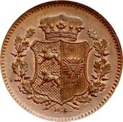 1 Dreiling (Gouvernement provisoire) – avers