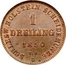 1 Dreiling (Gouvernement provisoire) – revers