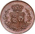 1 Sechsling (Gouvernement provisoire) – avers