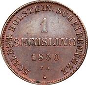 1 Sechsling (Gouvernement provisoire) – revers