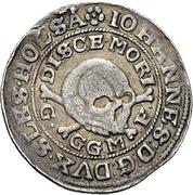 ¼ Thaler - Johann III. der Jüngere (Décès) – avers