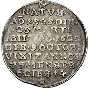 ¼ Thaler - Johann III. der Jüngere (Décès) – revers