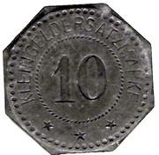 10 pfennig - Schlettstadt (Sélestat [67]) – avers