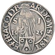 ½ guldengroschen / Joachimsthaler Louis I Jagellon – avers