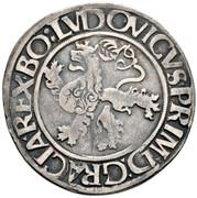 ½ guldengroschen / Joachimsthaler Louis I Jagellon – revers