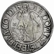1 guldengroschen / Joachimsthaler Louis I Jagellon – avers