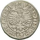 3 kreuzer Heinrich Schlick – revers