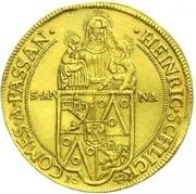 10 ducat Heinrich Schlick – avers