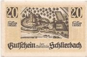20 Heller (Schlierbach) -  avers