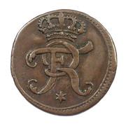 1 heller Friedrich I. – avers