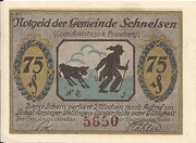 75 Pfennig (Schnelsen) – avers