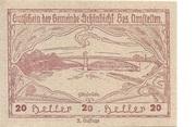 20 Heller (Schönbichl) – avers