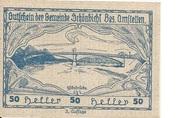 50 Heller (Schönbichl) – avers