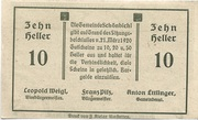 10 Heller (Schönbichl) – revers