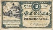 10 Heller (Schönbühel) – avers