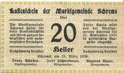 20 Heller (Schrems) – avers