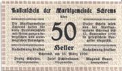 50 Heller (Schrems) – avers