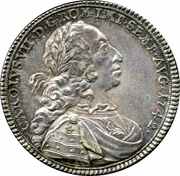 1 Thaler - Karl VII – revers