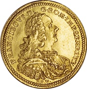 1 Ducat - Franz I (Trade coinage) – revers