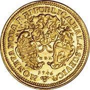 1 Ducat - Franz I (Trade coinage) – revers