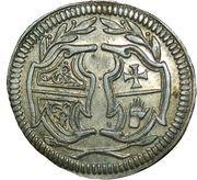 1 Kreuzer (Centenaire de la Paix de Westphalie) – avers