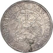 1 Thaler - Günther XLI. and Johann Günther – revers