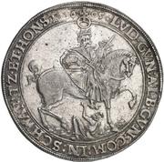 1 Thaler - Albert VIII., Günther XLII, Anton Heinrich, Johann Günther II. and Christian Günther I. – revers