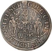 1 Thaler - Günther XLI. – avers