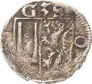 1 Pfennig - Balthasar II., Günther XXXIX. und Heinrich XXXI. – avers