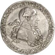 ½ thaler Friedrich Karl – avers