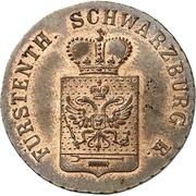 3 Pfenninge - Friedrich Günther – avers