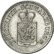 ½ Silbergroschen - Friedrich Günther – avers