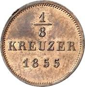 ⅛ Kreuzer - Friedrich Günther – revers