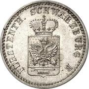 1 Silbergroschen - Friedrich Günther – avers