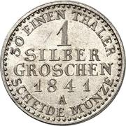 1 Silbergroschen - Friedrich Günther – revers