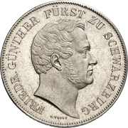 2 Gulden - Friedrich Günther – avers