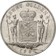 2 Gulden - Friedrich Günther – revers