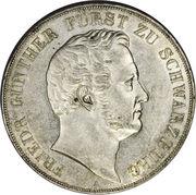 2 Thaler / 3½ Gulden - Friedrich Günther – avers
