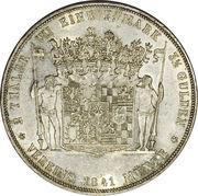 2 Thaler / 3½ Gulden - Friedrich Günther – revers