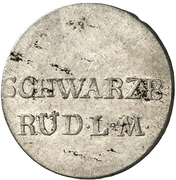 1 groschen Ludwig Friedrich II – avers