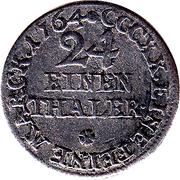 1/24 thaler Johann Friedrich – revers