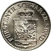 ½ Silber groschen - Günther Friedrich Carl II – avers