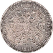1 Thaler - Günther Friedrich Carl II – revers