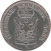 1 Silber groschen - Günther Friedrich Carl II – avers