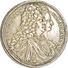 1 Thaler - Ferdinand Wilhelm Eusebius & Maria Anna – avers