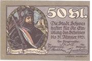 50 Heller (Schwaz) -  avers