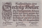 60 Heller (Schwaz) -  avers
